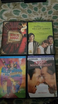 Assorted movies $5.00each Winchester, 22601