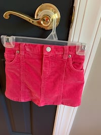Girl size 18 months pink corduroy  skirt  Centreville, 20120