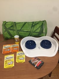 Cat treats, toys etc lot  Toronto, M9N 2S7