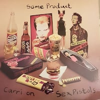Sex Pistols - some products carri on