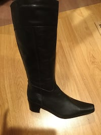 NEW Leather tall boot Antioch, 60002