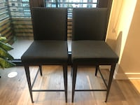 2 - Special Order Custom Made Bar Height Chairs 41 km