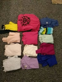 Girls size 14/L tops 13 items
