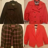 Blazers size M and L  New Westminster, V3L 5C6