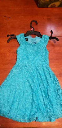 women's teal floral sleeveless dress Harpers Ferry, 25425