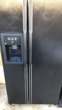 Black side by side refrigerator with dispenser Westminster, 92683