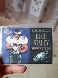 ***PRICE DROP***   Signed Football Card
