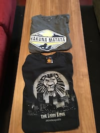 2 Lion King Tees Minneapolis, 55409