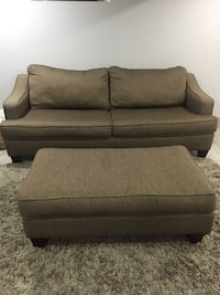 Sofa Bed with Ottoman Berkeley, 60163