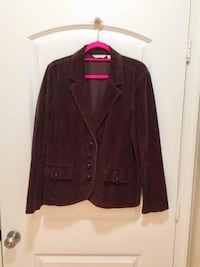 Women's Brown Corduroy Blazer  Herndon, 20171