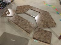 4 pcs of Countertops in excellent condition  Cedar Lake, 46303