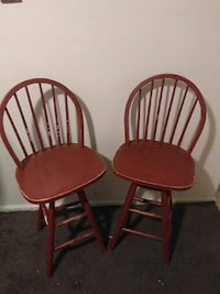 two brown wooden windsor chairs Saraland, 36571