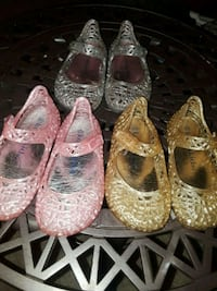 Jelly shoes size 6 toddlers Riverside, 92507