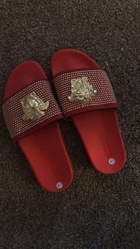 Pair of red slides Conway, 29526