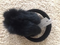 Genuine rabbit fur ear muffs with the tags still on them. Never used Indianapolis, 46220