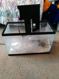 black framed clear glass pet tank Patterson, 95363