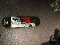 black and red skateboard deck Vancouver