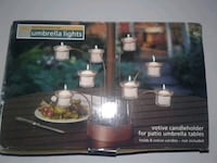 8 Votive Candleholder for Patio Umbrella Table Cross Lanes