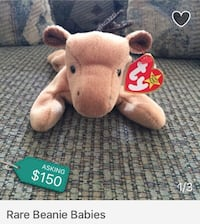 two brown bear TY Beanie Baby Tustin, 92782