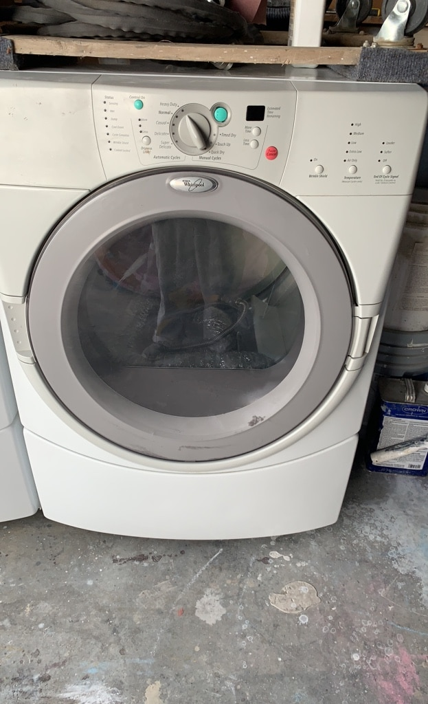 Photo Whirlpool washer and Dryer Set