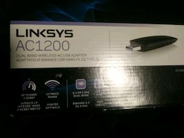 Linksys Ac1200 Dual band wireless - ac usb adapter