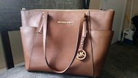 brown leather 2-way bag El Paso, 79924