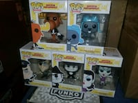 Rocky & bullwinkle funko pop set (FIRM PRICE) Toronto, M1L 2T3
