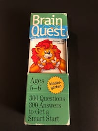 Brain Quest, Kindergarten.