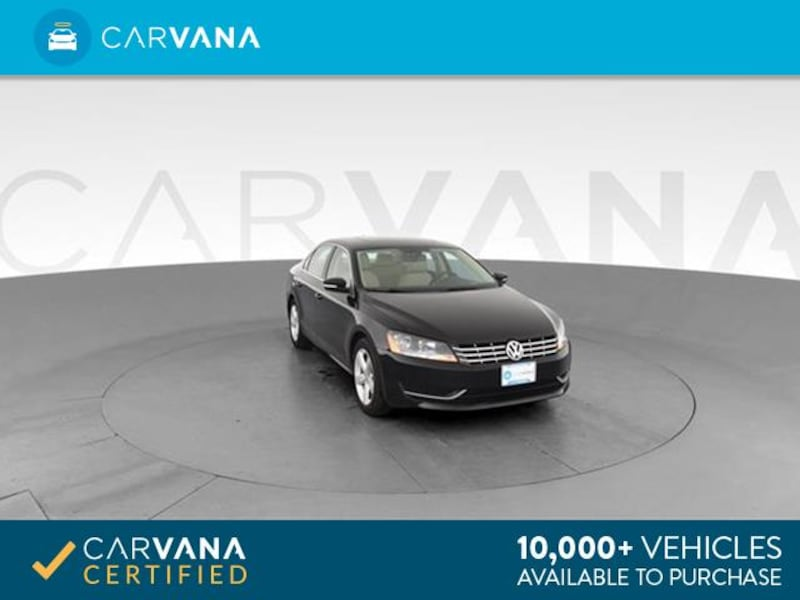 2013 VW Volkswagen Passat sedan TDI SE Sedan 4D BLACK 0