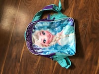 blue and white Frozen themed backpack Stephenson, 22656