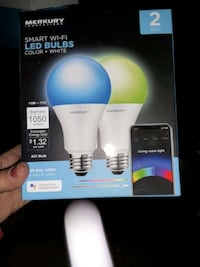 2 pack wifi led bulbs brand new Indianapolis, 46222