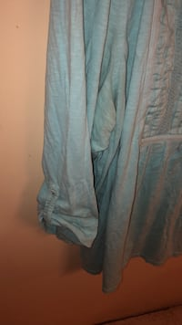 Light Green Charter Club Blouse with quartered sleeves, size 2X  San Antonio, 78207