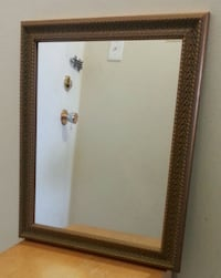 Solid Wood Rectangular Wall Mounted Mirror  Mississauga, L5N 2X2