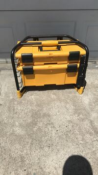 yellow and black tool chest Fresno, 93726