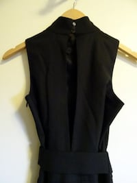 Black Club Monaco sleeveless dress (Size 0) Vancouver