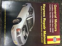 Haynes Cadillac Manual Bluemont, 20135