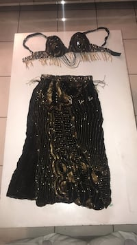 Black and gold belly dancing costume Miami Gardens, 33055