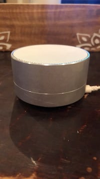 Never used round gray and black portable speaker Placentia, 92870