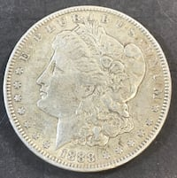 1888 P Morgan Silver Dollar XF Redding, 96002