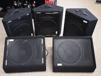 Peavey 115 TLM Speakers  Cape Coral