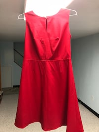 Size 12P Red Calvin Klein dress worn 1 time.   Dumfries, 22025