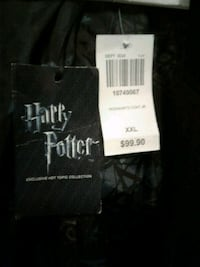 Halloween hooded jacket. Trench coat. Harry Potter New Port Richey, 34652