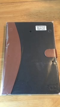 Black and brown leather iPad flip case Portsmouth