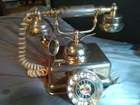 Antique  1960's old dial phone  Duncan