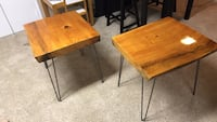 Live edge end tables Reston, 20191