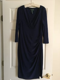 Women's blue long-sleeved dress LEESBURG