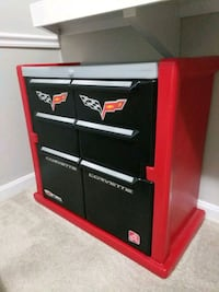 red and black kid cabinet Woodbridge, 22192