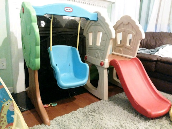 Little Tikes Hide Seek Climber And Swing Slide Out