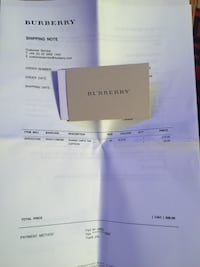 BURBERRY NEW BELT authentic with tags and receipt of purchase Never worn Toronto, M9L 2H9