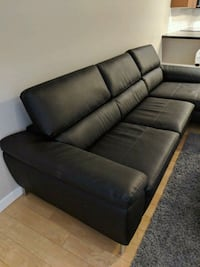 Leather Couch  Vancouver, V6Z 2R6